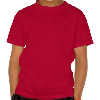 """pequeña escuela """"pistola de la estrella del rosa """" camiseta"""