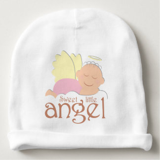 Pequeña gorrita tejida dulce del algodón del bebé gorrito para bebe