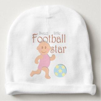 Pequeña gorrita tejida dulce del bebé de la gorrito para bebe