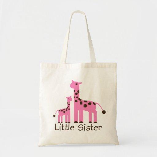Bolsa De Mano Pequeña Wizzair : Peque?a hermana de la jirafa bolsas mano zazzle