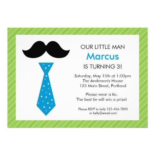Mustache Party Invites as adorable invitation ideas