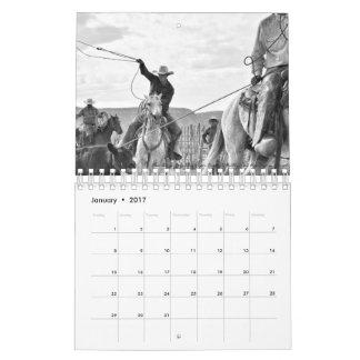 Pequeña oscilación perezosa un calendario blanco y