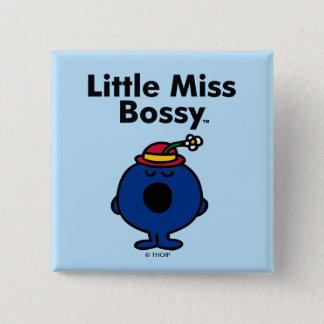 Pequeña pequeña Srta. Bossy de la Srta. el | es Chapa Cuadrada
