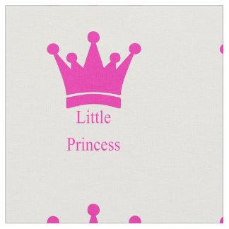 Pequeña princesa - bebé real tela