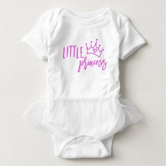 Pequeña princesa body para bebé