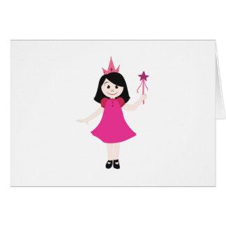 Pequeña princesa tarjetas