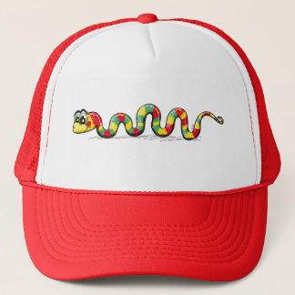 Pequeña serpiente linda - gorra rojo