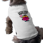 Pequeña Srta. Birthday Classic 1 Camisa De Perro