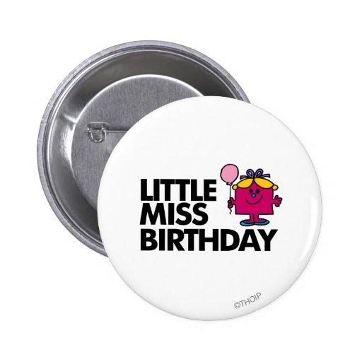 Pequeña Srta. Birthday Classic 2 Pin