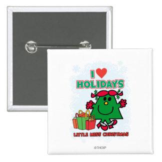 Pequeña Srta. Christmas - días de fiesta del amor  Pins