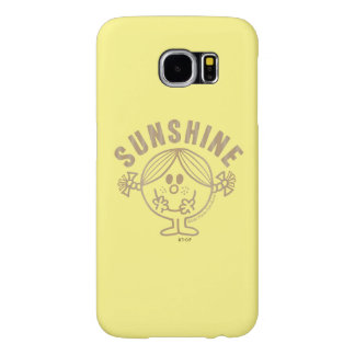 Pequeña Srta. Sunshine de Brown Funda Samsung Galaxy S6