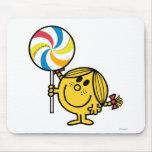 Pequeña Srta. Sunshine Lollipop Tapetes De Ratones