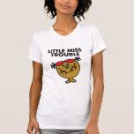 Pequeña Srta. Trouble Classic 1 Camisetas