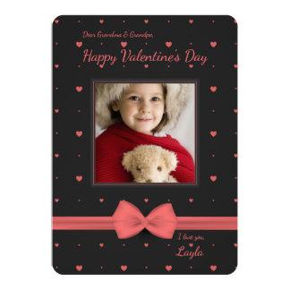 Pequeña tarjeta de la foto de la tarjeta del día