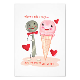 Pequeña tarjeta del día de San Valentín