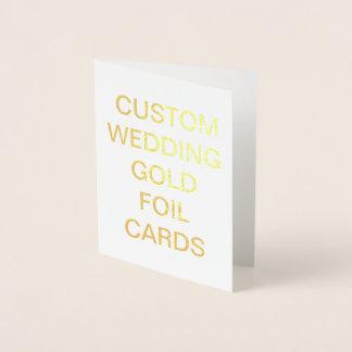 Pequeña tarjeta personalizada del efecto