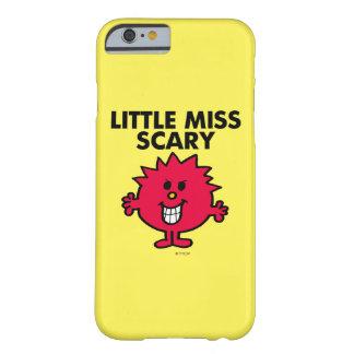 Pequeñas letras negras de Srta. Scary el | Funda Barely There iPhone 6