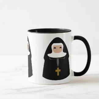 Pequeñas monjas lindas taza