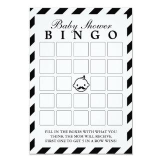 Pequeñas tarjetas del bingo de la fiesta de comunicado personalizado