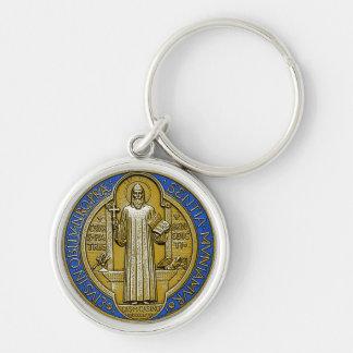 "Pequeño (1,44"") llavero de St.Benedict"