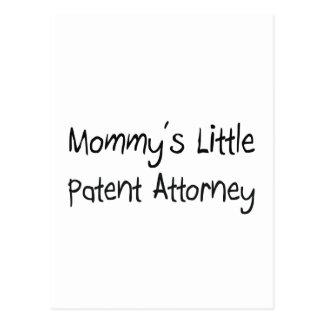 Pequeño abogado de patentes de Mommys Postal
