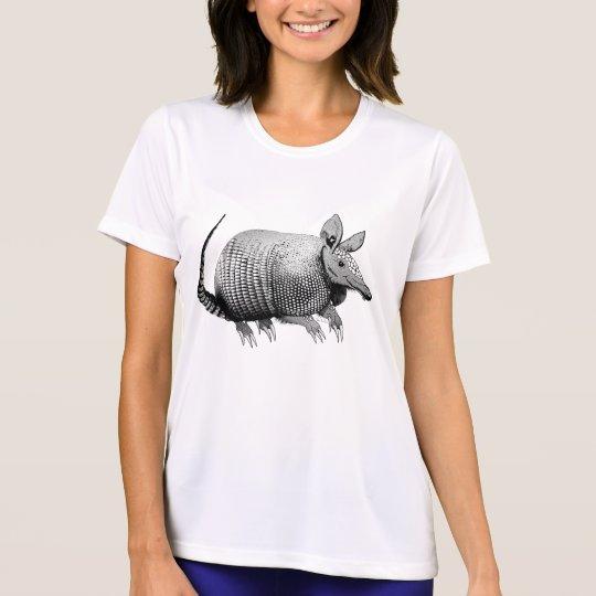 Pequeño armadillo lindo de Tejas - esmalte Camiseta