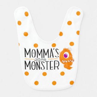 Pequeño babero del monstruo de Momma