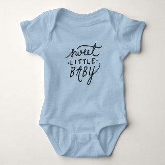 Pequeño bebé dulce body para bebé