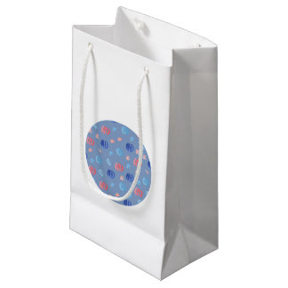 Pequeño bolso brillante del regalo de las bolsa de regalo pequeña