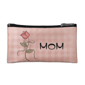 Pequeño bolso cosmético de la mamá