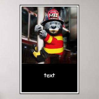 Pequeño bombero impresiones