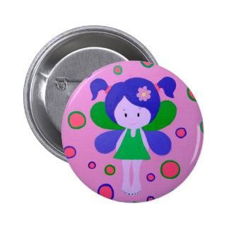 Pequeño botón de hadas pin