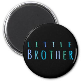 Pequeño Brother en azul Imán