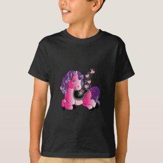 Pequeño caballo feliz camiseta