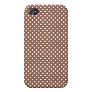 Pequeño caso pelirrojo de Iphone 4 del lunar de iPhone 4 Carcasa