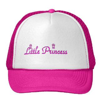 Pequeño casquillo de la princesa corona gorras de camionero