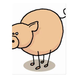 Pequeño cerdo Gro-Gro Postal