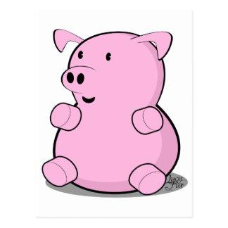 pequeño-cerdo postal