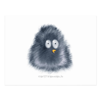 Pequeño Critter del pingüino Postal