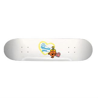 Pequeño deseo del el día de San Valentín de Srta. Tabla De Skate