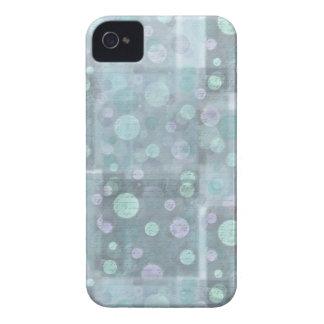 Pequeño diseño azul de los círculos para iphone4 iPhone 4 protector
