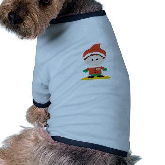 Pequeño duende camisetas de mascota