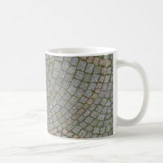 Pequeño fondo de la textura de las tejas de la taza