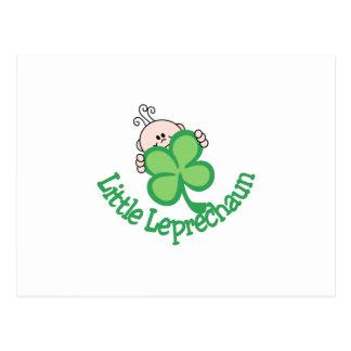 Pequeño Leprechaun Postal