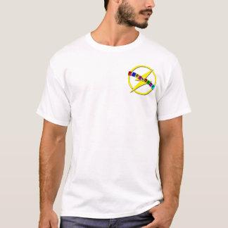 Pequeño logotipo del retroceso camiseta