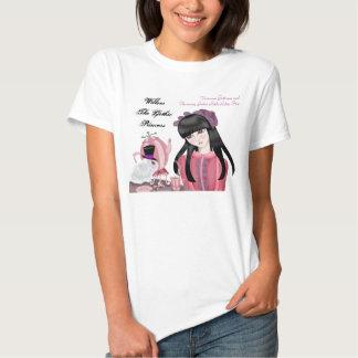 Pequeño Lolita gótico encantador Camiseta