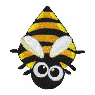 Pequeño modelo lindo del bordado de la abeja