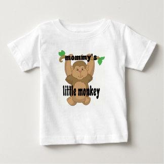 pequeño mono de los mommys camisetas