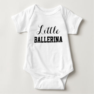 Pequeño mono del jersey del bebé de la bailarina