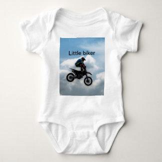 Pequeño motorista body para bebé
